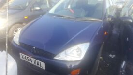 2000 FORD FOCUS LX 1.6 PETROL BREAKING FOR PARTS ONLY POSTAGE AVAILABLE NATIONWIDE