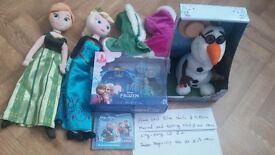 Disney Store plush Anna & Elsa Winter collecti