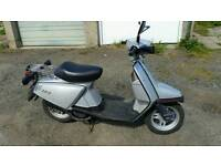 Yamaha Salient, Vintage Scooter, 50cc, Mot'd and Only 4600 Miles