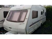 2005 Swift Challenger 550L 4 berth fixed bed touring caravan £5250