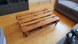 Shipping Pallet Coffee Table