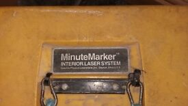Minutemarker rotating laser level