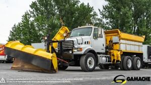 2009 STERLING L7500 SNOW PLOW