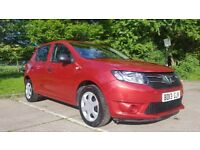 Dacia Sandero/Logan 1.2 ambiance petrol manual 5 door Low miles 20000 miles