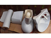 Porcelain BATHROOM sink / toilet / cistern etc. VGC. Offers TO CLEAR !