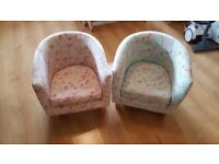 Childrens reading chairs
