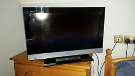 """Sony Bravia TV 26"""" with freeview"""
