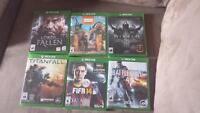 Xbox one games for sale or trade