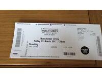 Kaiser Chief tickets