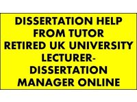 Private Tutor University Students,Dissertation Tutor, Dissertation Help,Support, Guidance, PhD,Essay