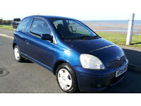 TOYOTA YARIS 1.0 COLOUR COLLECTION ***65,000 MILES***6 MONTHS M.O.T.***EXCELLENT CONDITION***