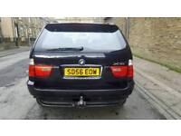 2006 bmw x5 3.0d sport black auto facelift towbar