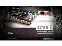 *DIGITECH VOCALIST LIVE 3 FX** NEW**MULTI HARMONY*