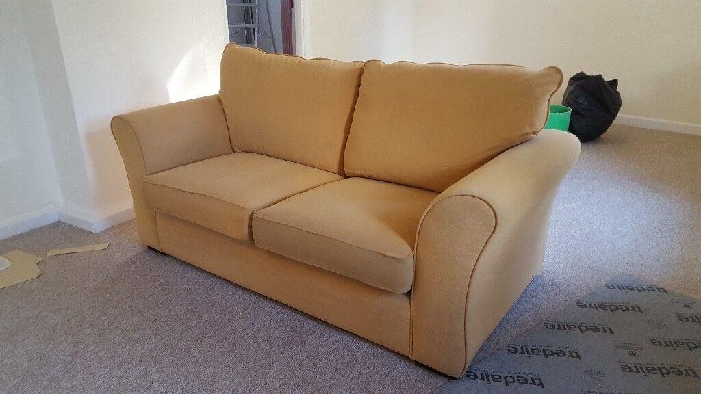 Yellow Sofa Bed For Sale In Gunnislake Cornwall Gumtree