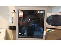 AKG y50bt headphones brand new