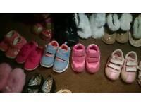 Toddler girl size 3 shoes bundle