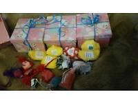 Pamper boutique bath sample boxes