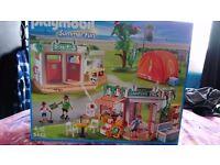 Playmobil summer fun camp site