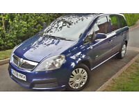 2008 VAUXHALL ZAFIRA 1.6 PETROL,7 SEATS,VERY LOW MILEAGE,TIMING BELT DONE.VERY GOOD COND.