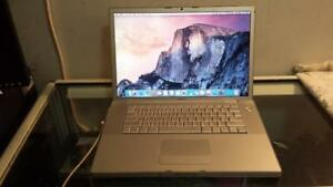 "2008 15"" Macbook Pro with Intel Core 2 Duo Processor, DVD, Webcam and Wireless for Sale (delivery available )"