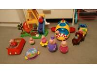 Peppa pig weebles collection