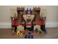 Imaginext Lions Castle and Figures