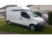 Renault Trafic with air con LWB H/R LH29DCI100 2006 One Years MOT Exc Cond Vivaro Primastar style