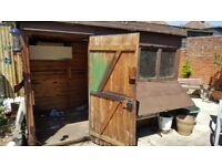 Old Shed / Scrapping / Firewood / Rebuild