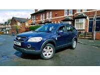 2008 Chevrolet CAPTIVA 7 SEATER Diesel 2.0 Full History