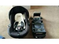 Silvercross ventura car seat and isofix base
