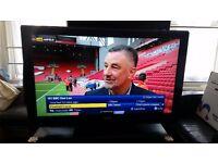 (Great Condition) Toshiba 40AV10E 40″ Full HD 1080p + Remote + IKEA Tv Stand + Sky+ HD Box