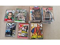 Film review magazines from 2001-2004 (86 issues)