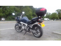 Yamaha Fazer FZ6 2004 600cc Sports Tourer Motorbike
