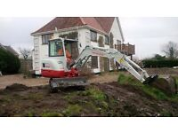 DIGGER HIRE AVIAILABLE WITH OR WITHOUT OPERATOR IN NORWICH, NORFOLK & SURROUNDING AREAS