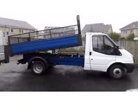 WANTED! FORD TRANSIT TIPPER 2000 TO 2005 REG QUICK SELL!