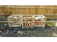 Wooden palletts / crates ideal for firewood / bonfire
