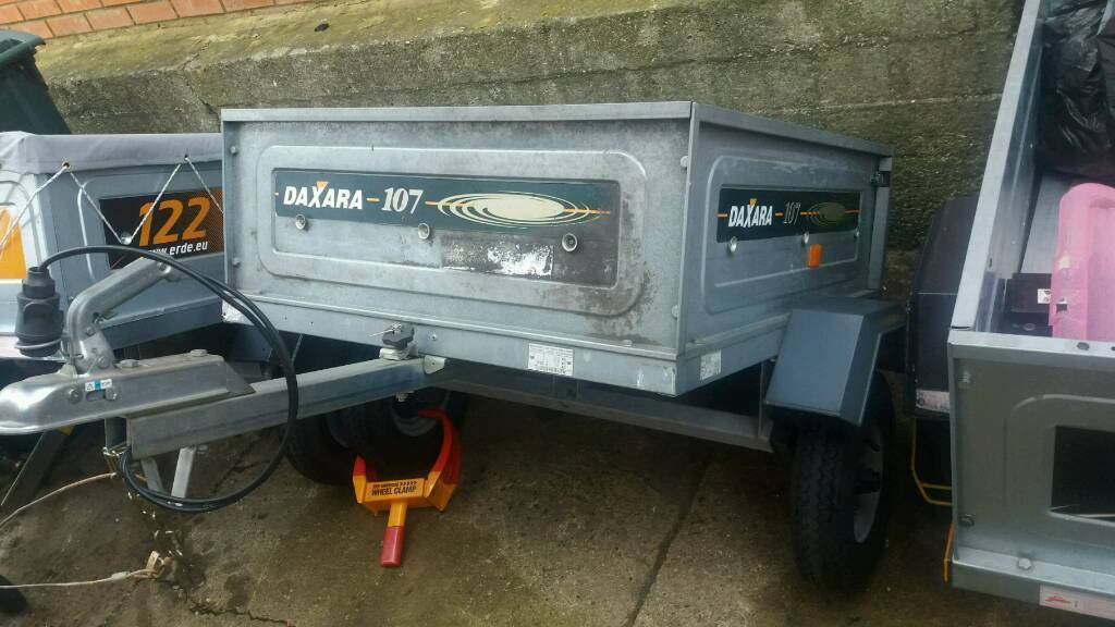 Daxara 107 trailer with brand new cover.same as erde 102.