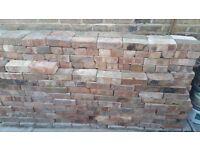 430 red bricks (used, clean ).