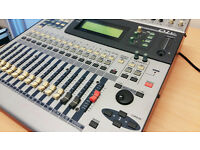 Yamaha 01V Digital Mixer with motorised faders and on board effects