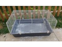 Large indoor rabbit hutch