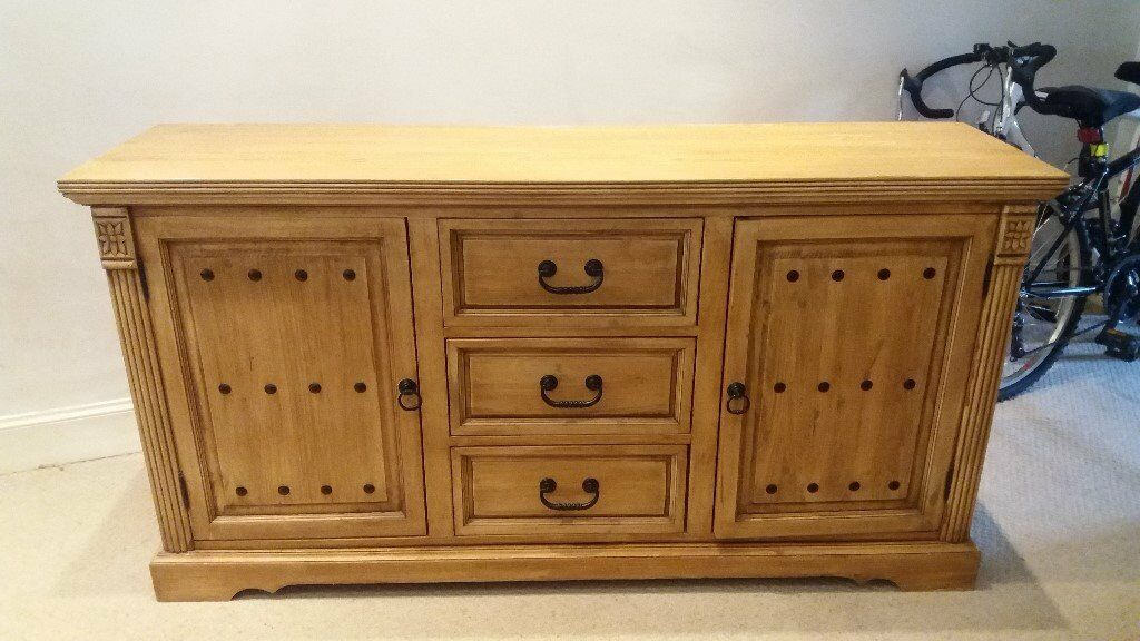 SOLID WOODEN LARGE SIDEBOARD