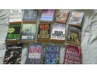 Books. Ian Rankin. Dean Koontz and other authors