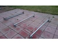 Ford transit roof rack with roller bar