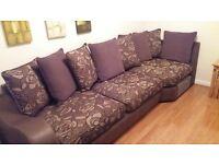 corner sofa excellent condition £650 ono