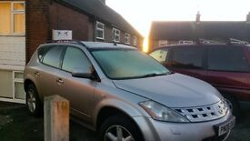 Nissan murano 3.5v6 all ready for the winter