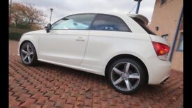 Audi A1 1.4 TFSI 122 BHP Competition Line in Amalfi White 61000 miles 12 Months MOT