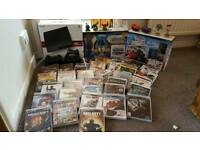 Playstation 3 with 37 games boxed plus head set, black ops 3 , gta 5 , disney infinity , fifa 2016