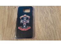 Guns & Roses Samsung galaxy s7 edge phone cover,brand new,official product