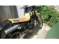 Yamaha xt350 project