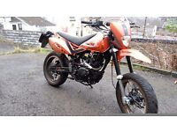 for sale a pulse adrenaline 125 with a genuine suzuki gs engine please read ad before calling.